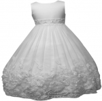 GIRLS FLOWER DRESSES (1242410) WHITE